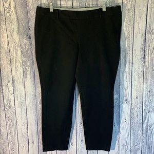 J Crew Winnie Slim Crop Stretch Side Zip Pant, 14